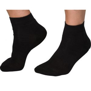 bamboo socks ankle black