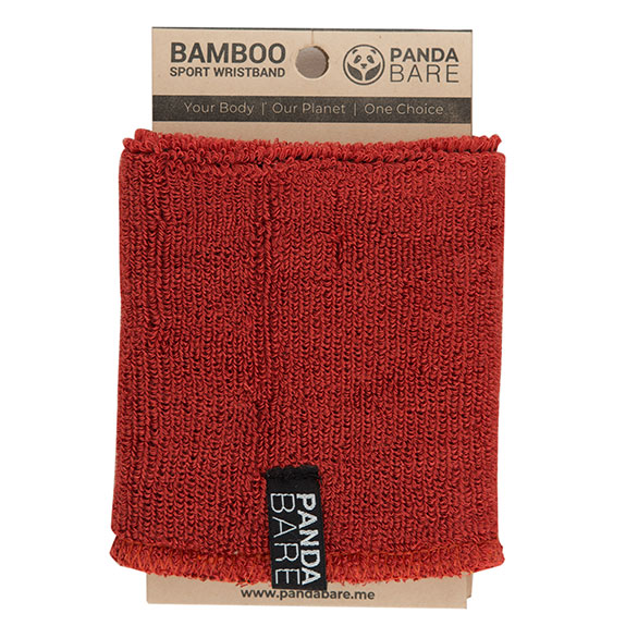 bamboo wristband red