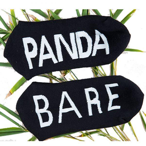 bamboo socks ankle black 5